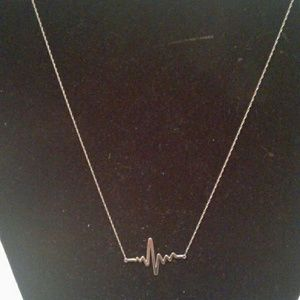 "10k Gold 'Electric"" Necklace"
